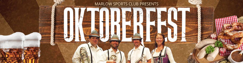 Marlow Sports Club Oktoberfest 28th Sept 2019